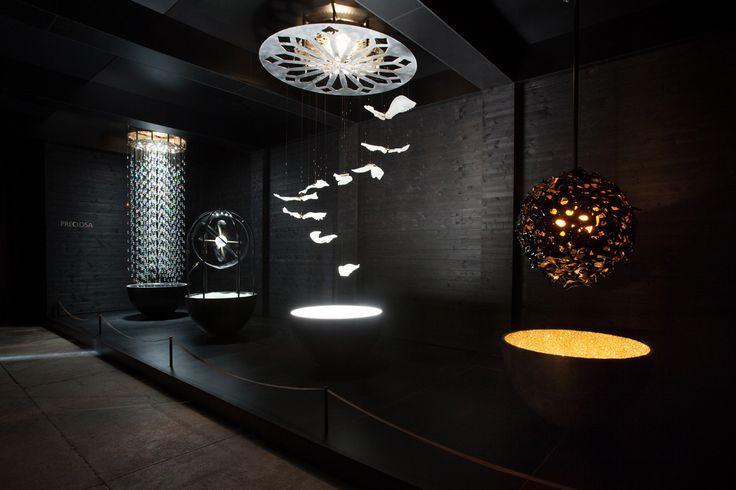 Crystal Automata by VAsku&Klug for Preciosa   Milano Design Week 2016   Via Tortona 31, Milan www.milanospacemakers.com