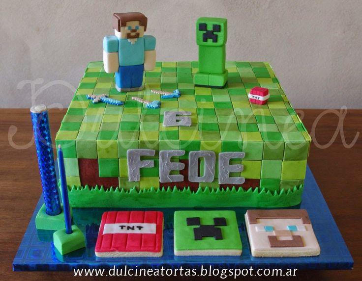 tortas minecraft - Buscar con Google