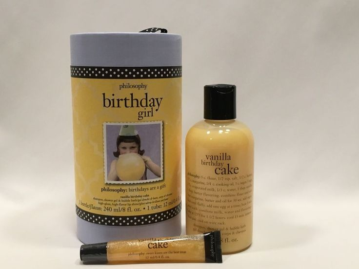 Philosophy Birthday Girl Vanilla Birthday Cake Gift Set