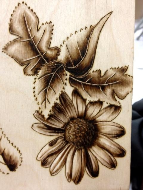 Art of pyrography