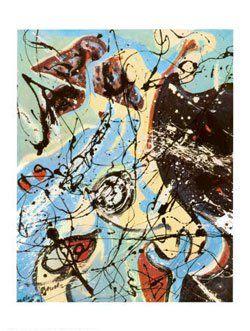 Fractals of Folly (1950) de Jackson Pollock