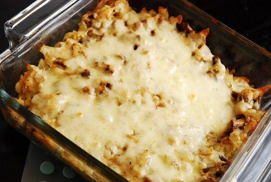 Stuffed Mushroom Casserole Recipe – 3 Points