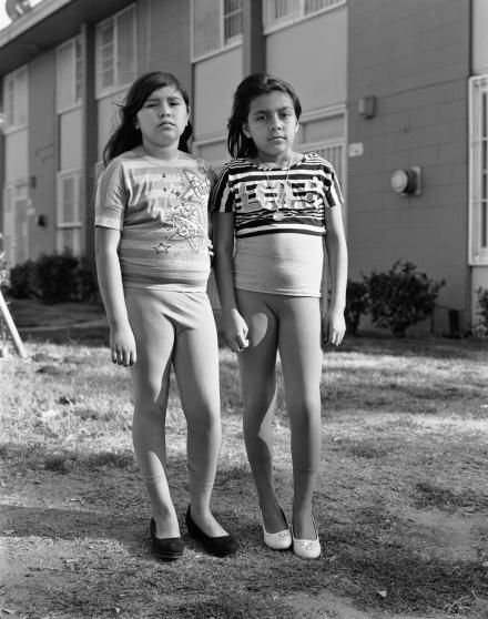 """Dana Lixenberg Imperial Courts Leslie and Ashley, 2013"""