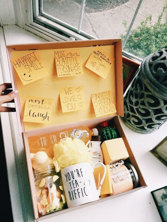 Yellow Cheap Valentine Day Box Diy For Her Sale Valentine Diy