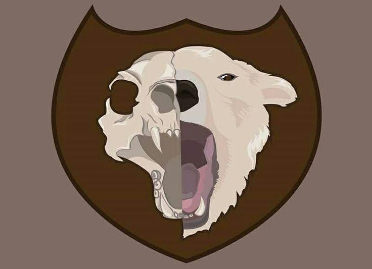 #polarbear #skull