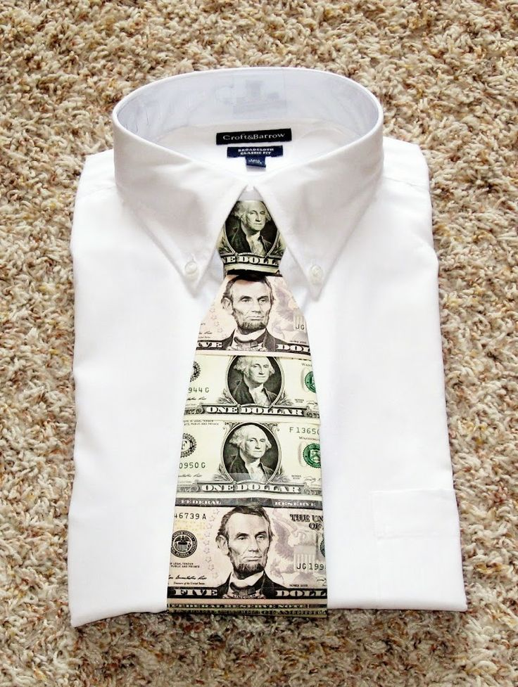 How to Make a Cash Tie - and other creative ways to give money!!