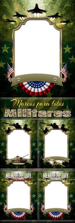 5 Marcos para hacer fotomontajes al estilo militar