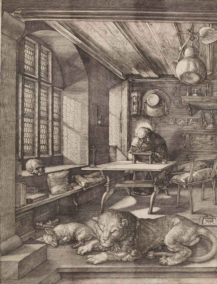 Epingle Par Brigitte Boulanger Sur Dessins Gravure Art Saint Jerome