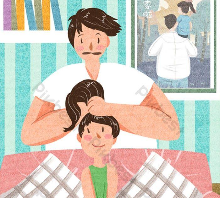 25 Gambar Kartun Keluarga Ayah Ibu Anak Ayah Kartun Comel Yang Segar Hari Ayah Dan Anak Perempuan Download 54 Gambar Kartun Ayah Anak Di 2020 Kartun Animasi Ayah