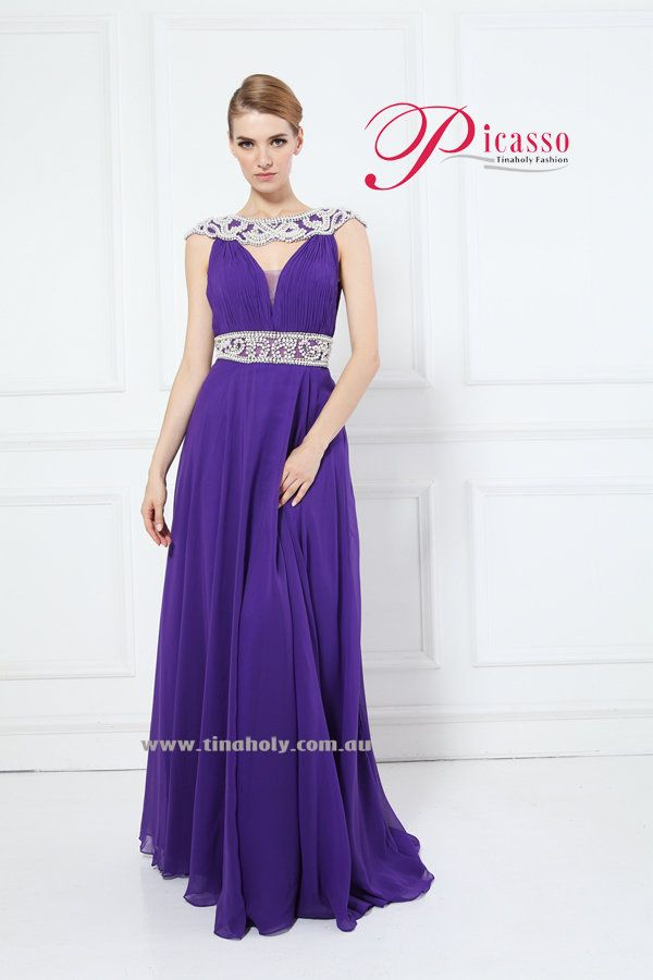 Tina Holy 13078 in Royal Purple @ #Sassy Boutique