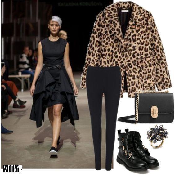 dizajnérske čierne šaty Katarína Kobušová – MODNYSVET