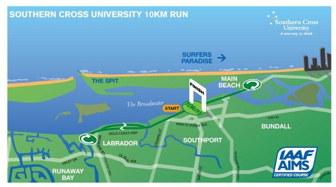 2013 Southern Cross University 10km Run