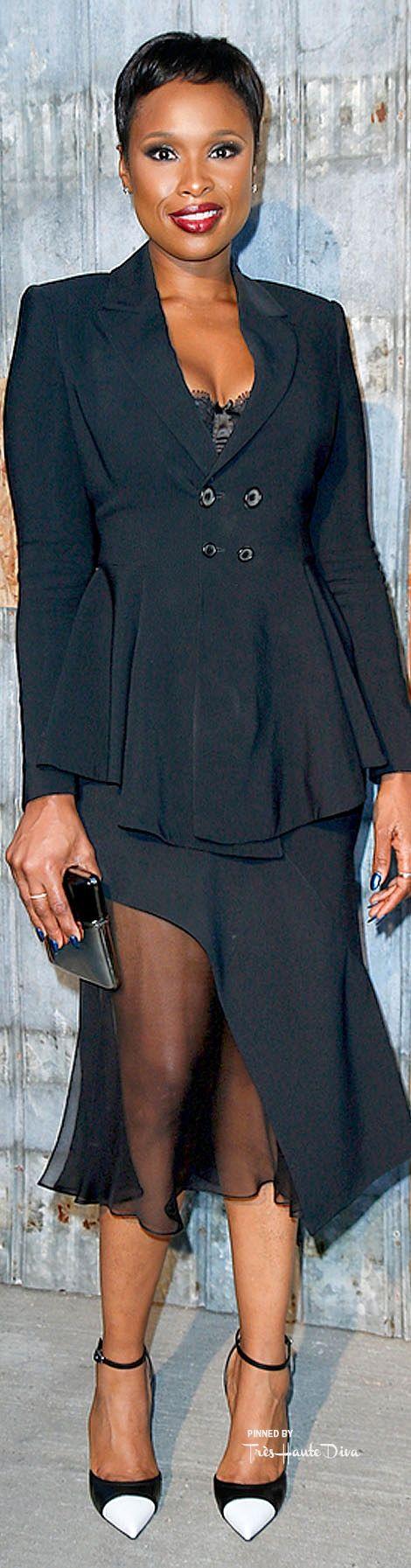 #Jennifer #Hudson at the #Givenchy Spring 2016 RTW Show ♔ Très Haute Diva ♔