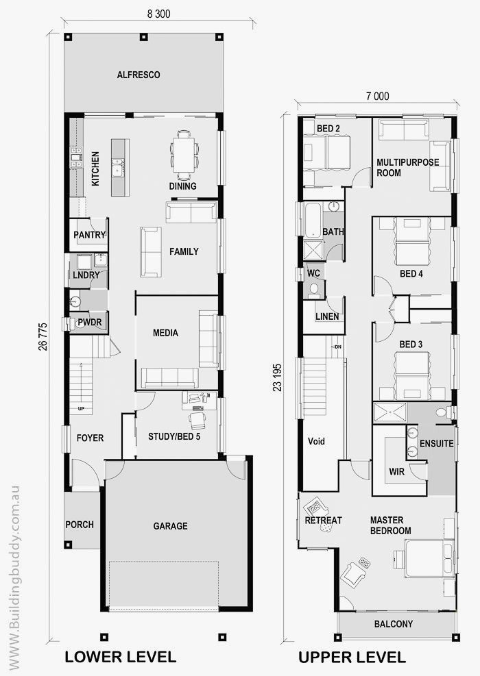 3 Storey House Plans For Small Lots Awesome Pin By Shee Kim Denah Rumah Denah Lantai Rumah The Plan