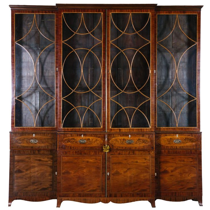 George III Mahogany Breakfront Secretary. Best 25  English antique furniture ideas on Pinterest   Antique