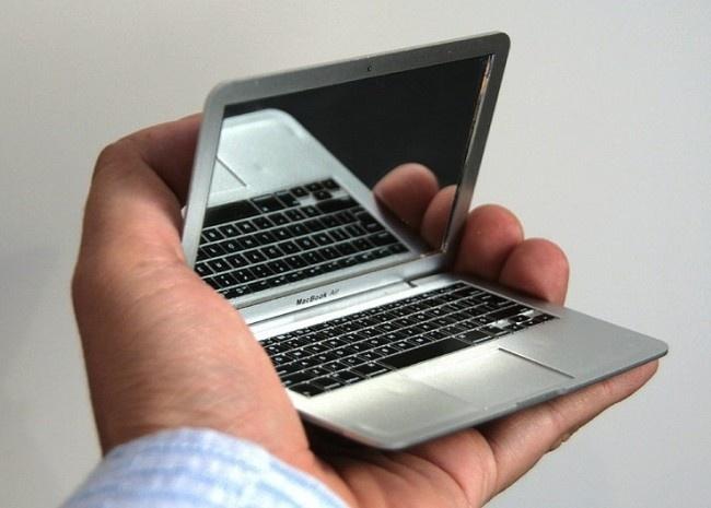Miroir de poche geek Macbook