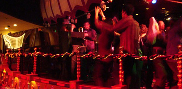 Clubs in Las Vegas – Cleopatra's Barge in Ceasar's,.... A longtime fav