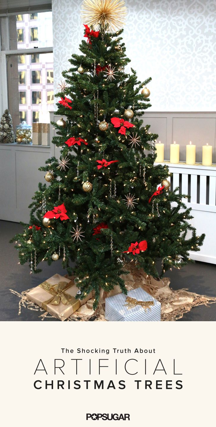 Unless you plan on using the same artificial tree for at least 10 years, a natural tree is the more eco-friendly option.