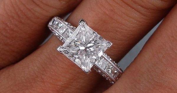 Stunning!   Обручальные кольца   Pinterest   Engagement rings, On and Diamonds