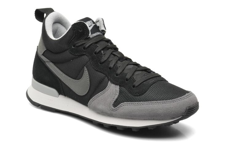 Nike Wmns Nike Internationalist Mid (Noir) - Baskets chez Sarenza (215916)