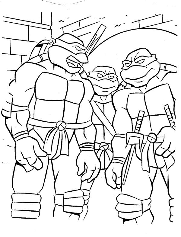 free printable ninja turtle coloring pages beautiful to print