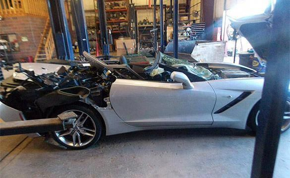 Rear End Collision Damage To Frame In 2020 2014 Corvette Stingray Corvette Stingray Corvette