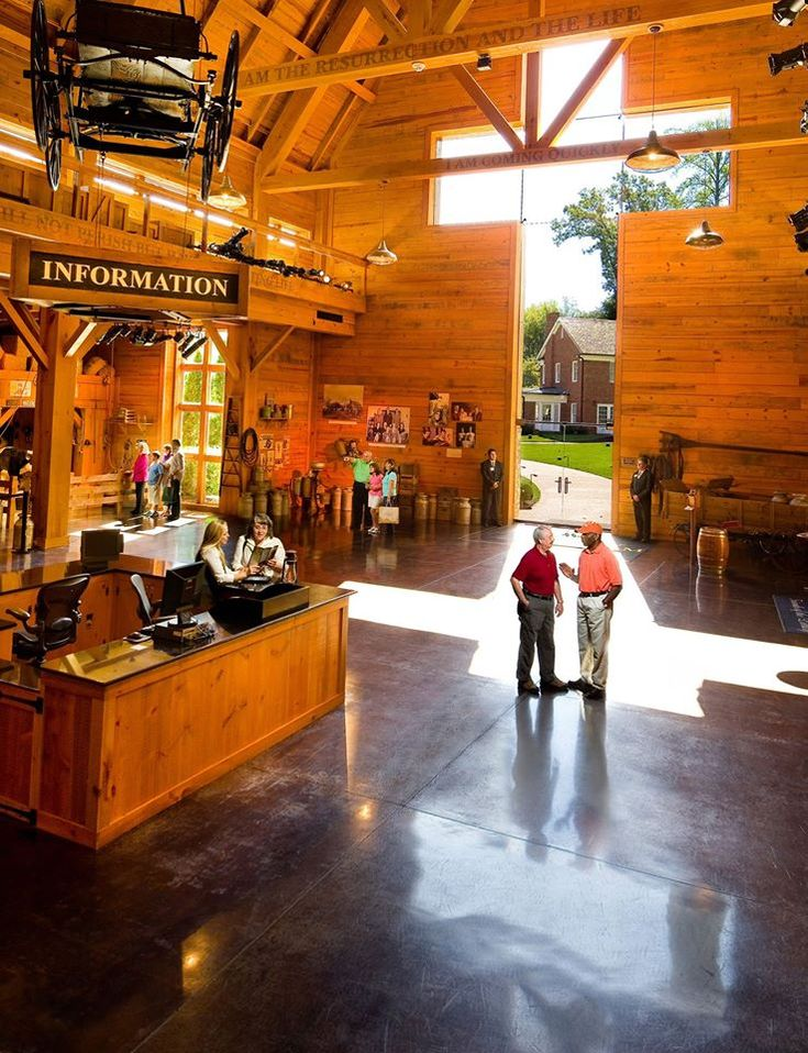 Billy Graham Library  -  Did you know there are Bible verses written on the beams in the Library's lobby? There are eight, to be exact. Come visit and see if you can spot them all.