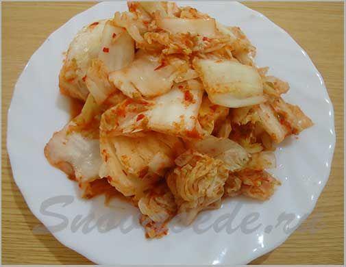 Корейский салат капуста здоровье