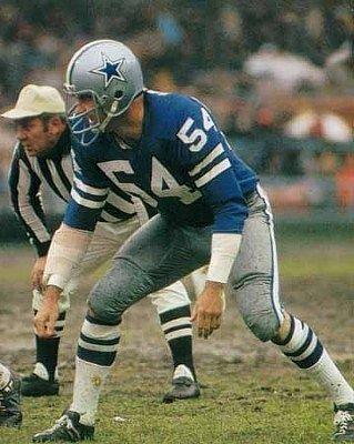Dallas Cowboys linebacker Lee Roy Jordan