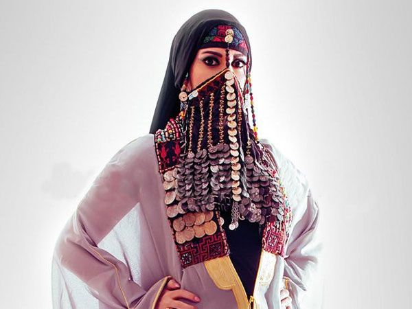 صور وخلفيات بنات لابسه الزي البدوي 2018 2019 Arab Beauty Fashion Burka