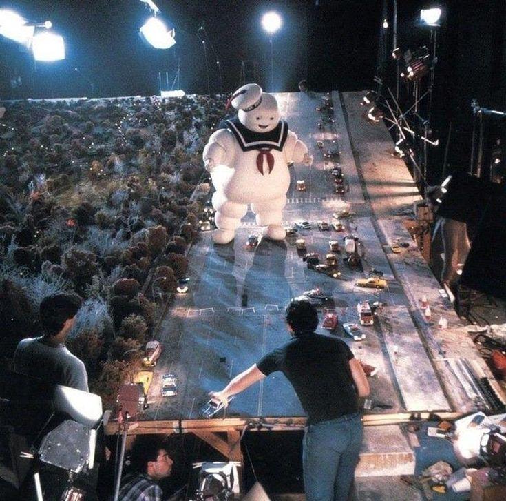 Original Ghostbusters movie set   1984