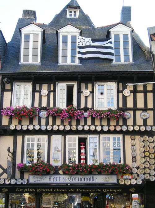 Les faïences de Quimper - Quimper, Bretagne