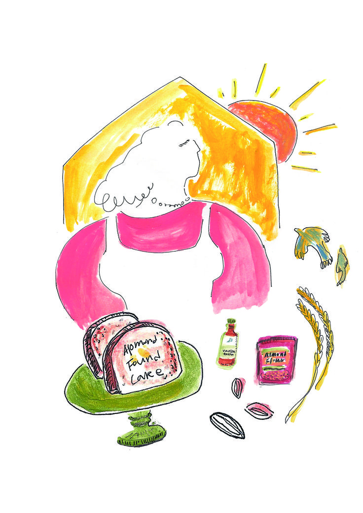 Achim magazine vol.6 mommy /recipe illustration