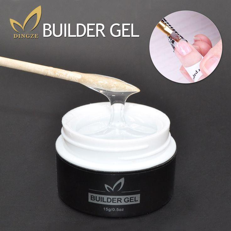 Perfect nagels gel franse manicure clear uv gel polish losweken Builder Glazuur Gel Base Coat Top Coat Zomer Gelnagels Goedkope Lak
