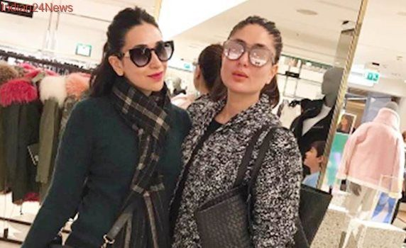 Guess where Kareena Kapoor Khan, sister Karisma Kapoor went shopping? All the way to London, see pics