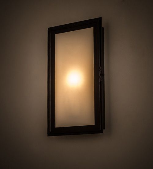 "9.5""W Ventana Contemporary Wall Sconce"