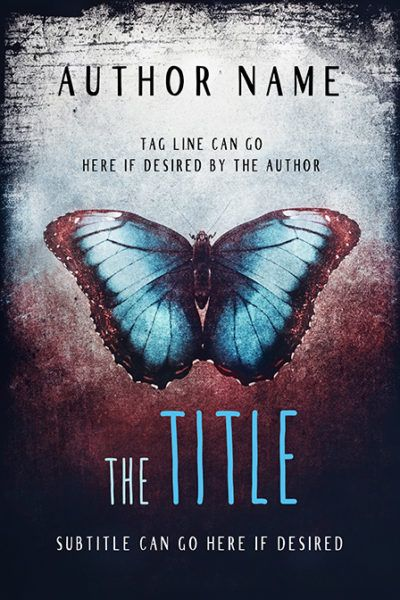 26 best fiction premade book covers images on pinterest premade dark mystery blue butterfly premade book cover dani 16 fandeluxe Image collections