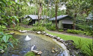 Water Treatment plant at Silky Oaks Lodge #sustainability #ecotourism #Queensland #Australia