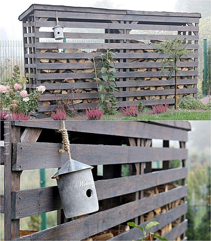 Baba Ma Dom: Jesienny ogród, drewutnia DIY