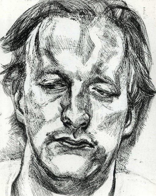 example of work: Lucian Freud