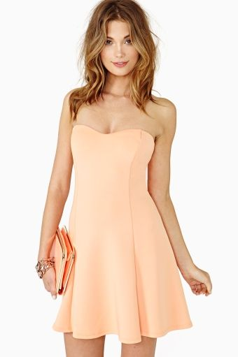Color Crush Skater Dress