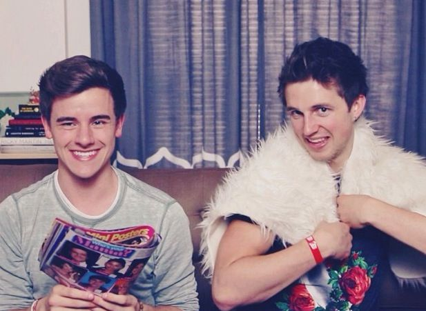 Uploaded a collab on YouTube.com/connorfranta w/ @Marcus Butler yesterday! We read a bunch of magazines l, so it's pretty funny! -CF Instagram