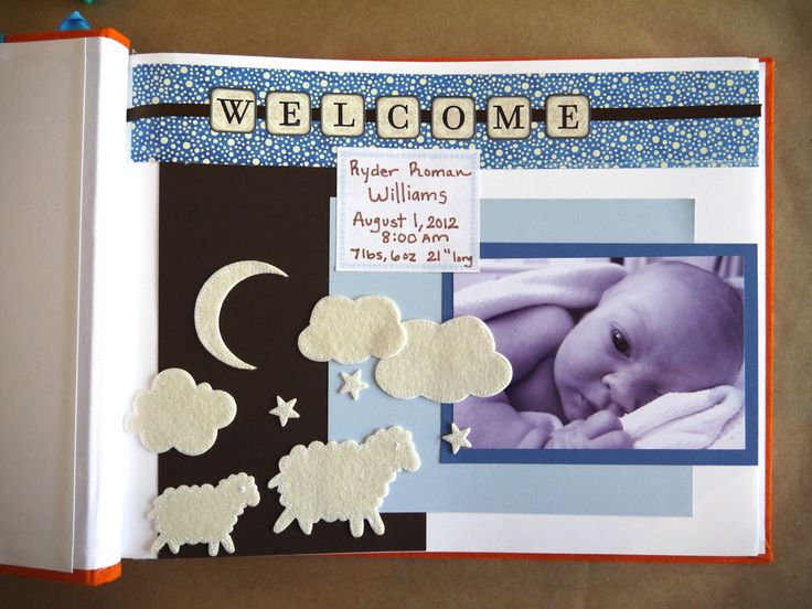 """How to Make a """"Baby's First Year"""" Scrapbook"""