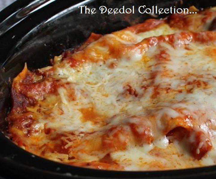 Granny's  Crock Pot Lasagna.... https://grannysfavorites.wordpress.com/2016/10/23/grannys-crock-pot-lasagna/