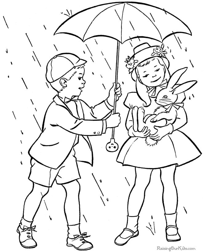 Christian Easter Coloring Pages For Preschoolers : Easter coloring pages