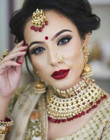 Hindu Bridal Hairstyles Jewellery 39 Ideas