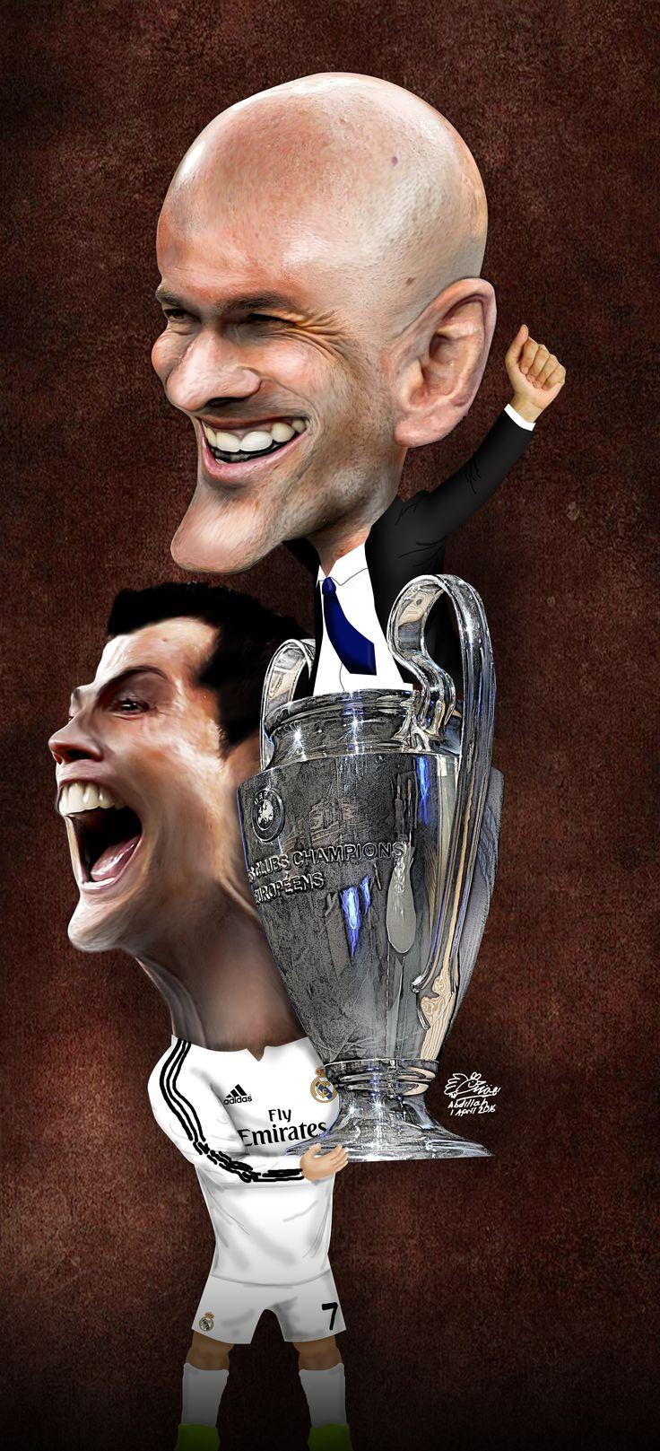 Real Madrid Juara Liga Champions 2015/2016 (Design: Abdillah)