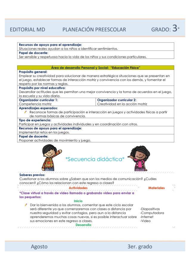 Planeaciones De Preescolar Híbridas Ejemplo Md Linkedin Profile Like You You Sure