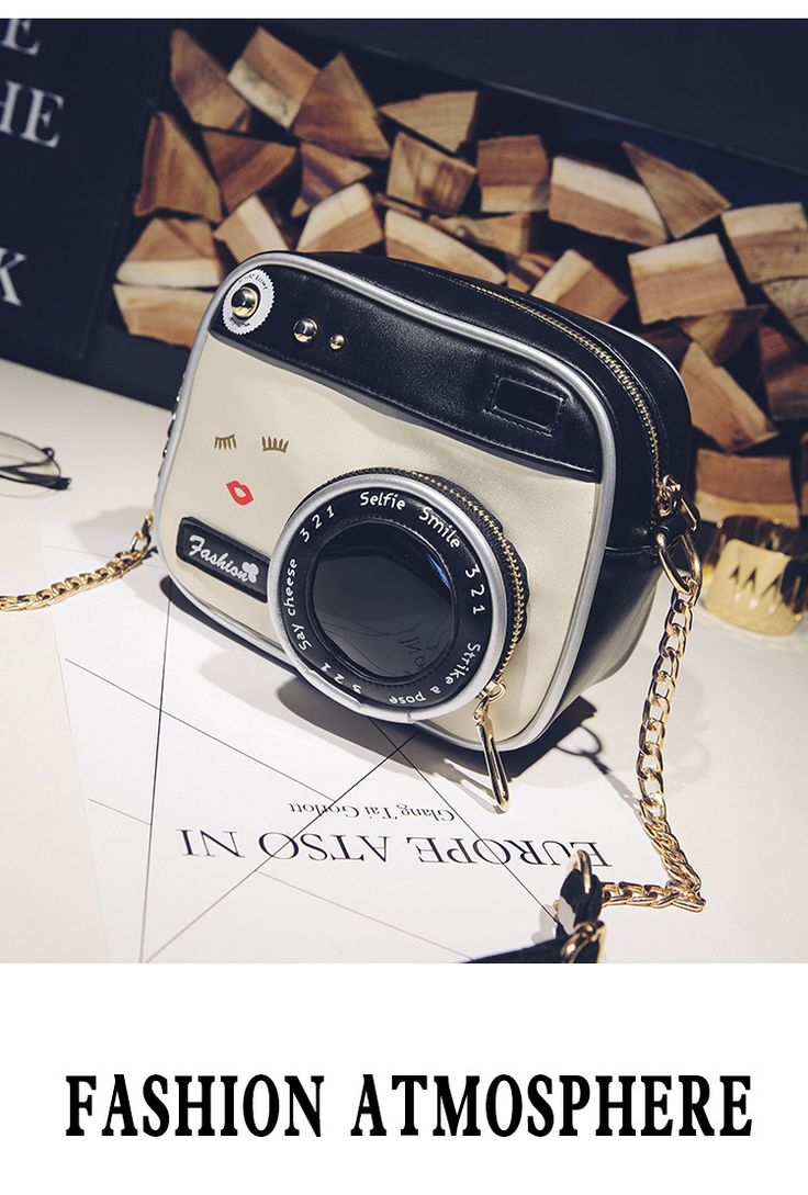 Princess sweet lolita bag factory direct sales personalized creative cute stereo camera shoulder diagonal cross chain bag BAG131