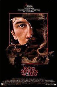 Das Geheimnis des verborgenen Tempels ist ein Kriminalabenteuer aus dem Jahr 1985 von Chris Columbus, welches von Steven Spielberg fantastisch in Szene gesetzt wurde. Es handelt von den jungen Jahren Sherlock Holmes, in denen er spekulativ mit seinem späteren Freund und Weggefährten John Watson zusammentraf.